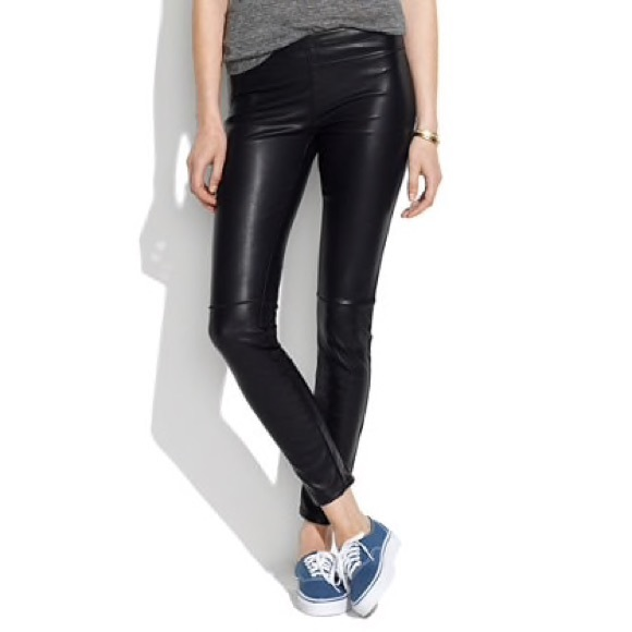 7897ec8f15740c Blank NYC Pants - Blank NYC vegan pull on leather leggings pants